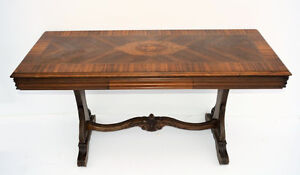 Transforming Console table to dining Table
