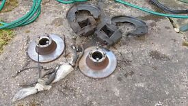 Classic mini spi brake assembly