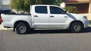 2008 Toyota Hilux Workmate 4X2 Manual Petrol DualCab ONE OWNER!!