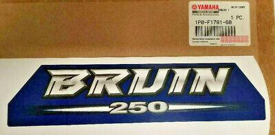 YAMAHA 2006 BRUIN 250 EMBLEM OEM # 1P0-F1781-60  NEW GENUINE YAMAHA