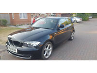 2010 1 SERIES 2.0 PETROL 116i SPORT 3DR, 3 OWNERS, ONLY 69K GUARENTEED MILAGE WITH SERVICE HISTORY,