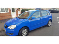 55 PLATE VOLKSWAGEN POLO 1.4 5DR, 6 MONTHS MOT, LADY OWNER 67K GUARENTEED MILAGE, SERVICE HISTORY,