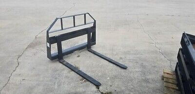 42 Pallet Forks For Skid Steer Or Tractor - Quick Disconnect - Might Deliver
