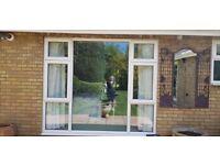 LOVELY Large UPVC Double Glazed window