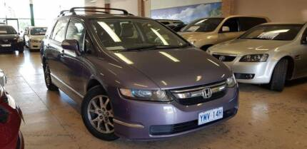2007 Honda Odyssey Wagon LUXURY LOGBOOK SUNROOF LEATHER 7 SEATS Roselands Canterbury Area Preview