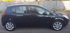 2010 VAUXHALL CORSA DESIGN 1.2cc PETROL MANUAL, LADY OWNER, LONG MOT, ONLY 65K