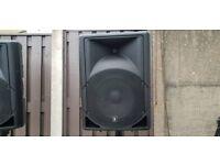 "QTX QS12 12"" Passive Moulded Speaker Cabinets 250W RMS"