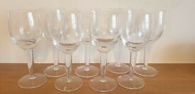 8 x Denby White Wine Glasses - new but unboxed