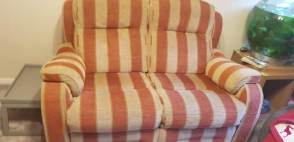 Awesome Parker Knoll Boston Recliner Sofa In Cuba Stripe In Orpington London Gumtree Gmtry Best Dining Table And Chair Ideas Images Gmtryco