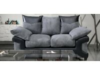 FABRIC/CRUSH VELVET SOFA LUXURY **DINO SOFA** CHEAPEST PRICE 3+2/Corner sofa 189457
