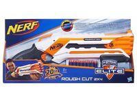 5 x NERF N-Strike Elite Rough Cut 2 x 4 Blaster Guns (BNIB)