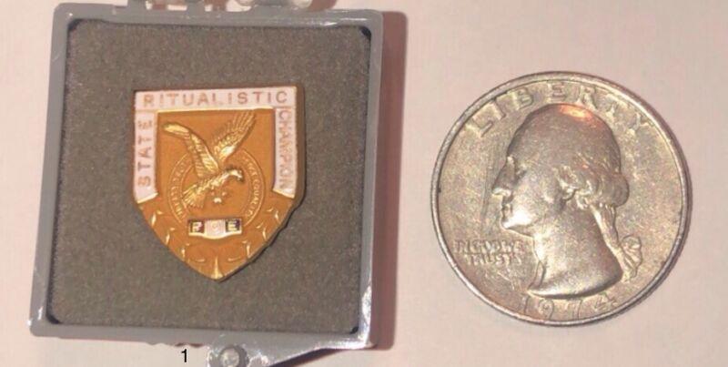 FOE Ritualistic State Champion Pin