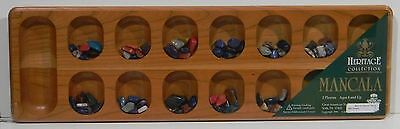 Luxury Mancala Game heritage Collection New Natural Cherry Wood 1996