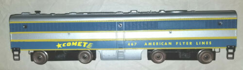 American Flyer Gilbert 467 Comet B Unit with whistle