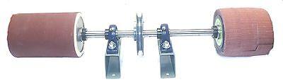 Accura U.s.a. Made Pump Sleeve Sanding Mandrel Assembly 01436 1-14 Shaft