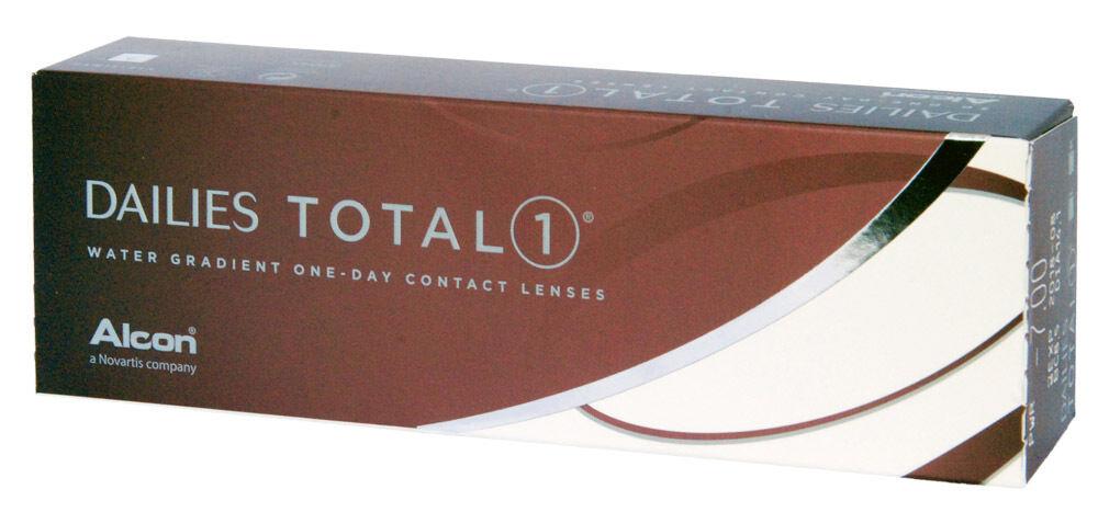 Dailies Total1 Total 1 - 30er Box - Tageslinsen - weiche Kontaktlinsen