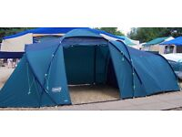 COLEMAN Bi Space 700. 7 Man Large Stand up Tent. Used Once. Perfect condition.