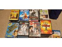 Over 100 DVDs/boxsets & games