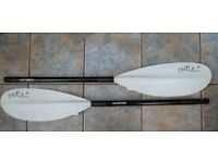 The TNP Wolferine paddles + free hydroteck canoe boots