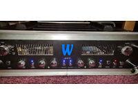 Warwick VI Bass Amp Amplifer Head with Hardcase
