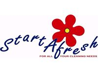Evening commercial site cleaners/drivers