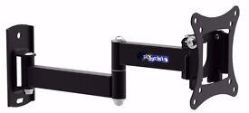 TV WALL BRACKET Cantilever Style Tilt & Swivel TV Mounting Bracket NEW SKY PC