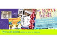 Business Cards and Leaflets and Brochure printing