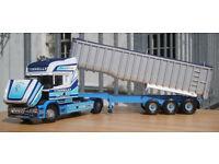 "Corgi CC12805, Scania T Topline Bulk Tipper ""Tinnelly International tr-t"", 1:50"
