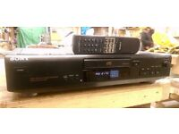 Sony CDP-XE310 CD player with remote control