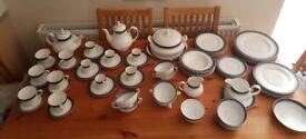 Royal Doulton Sherbrooke 74 piece tableware set
