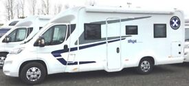 Swift Escape 694 Motorhome, 4 Berth . 2018 , fitted with every extra , Bargain Price.