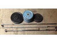 1 inch weight plates