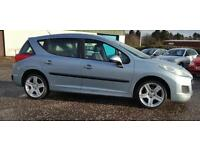 PEUGEOT 207 1.6 HDi 90 S 5dr �30 Tax Full Mot & Serviced & Warranty Very Practical (blue) 2010