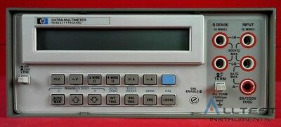 3478a Hp - Agilent 3478a Digital Multimeter Dmm Tested Good
