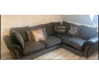 4 seater grey corner couch