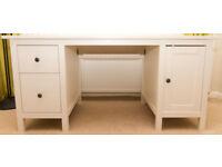 IKEA Desk HEMNES – Colour White Stain - Excellent Condition