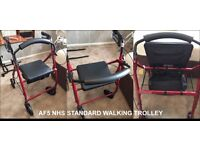 Lightweight Rollator with seat