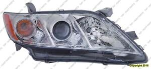 Head Lamp Passenger Side Le/Xle/Bas Assembly Usa Built High Quality Toyota Camry 2007-2009