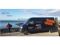 Bristol Man with a Van, Tom's Vans is Bristol's friendliest Man and Van Bristol Removals Since 2010