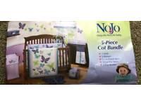 Cot bed bundle set (6 piece) excellent condition