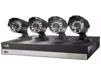 4 CH HOMEGUARD CCTV CAMERA KIT DVR