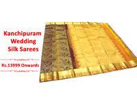 Kanchipuram Silk Saree Manufacturer - Rainbow SIlk sarees