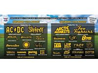 wv1 fest tickets Sunday x 4 in total individually priced