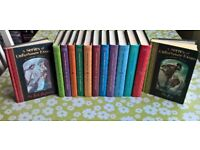 A series of unfortunate events by Lemony Snicket, hard back, complete series, 13 volumes