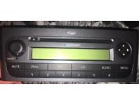 Fiat Punto grande radio stereo WITH CODE