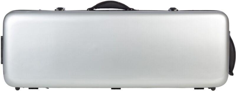 UK Fiberglass viola case Oblong 38-43 M-case Silver