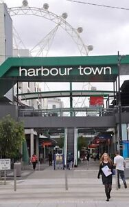 A car park available in docklands Harbour Town shopping center Docklands Melbourne City Preview