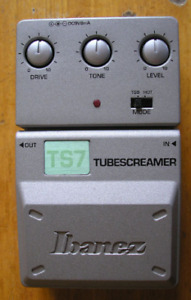Ibanez-TS-7 et overdrive Silver Drive.