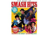 1980's nostalgia annuals (Jackie 1986 & Smash hits 80s etc)