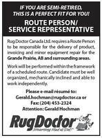 Service Rep/Route Person